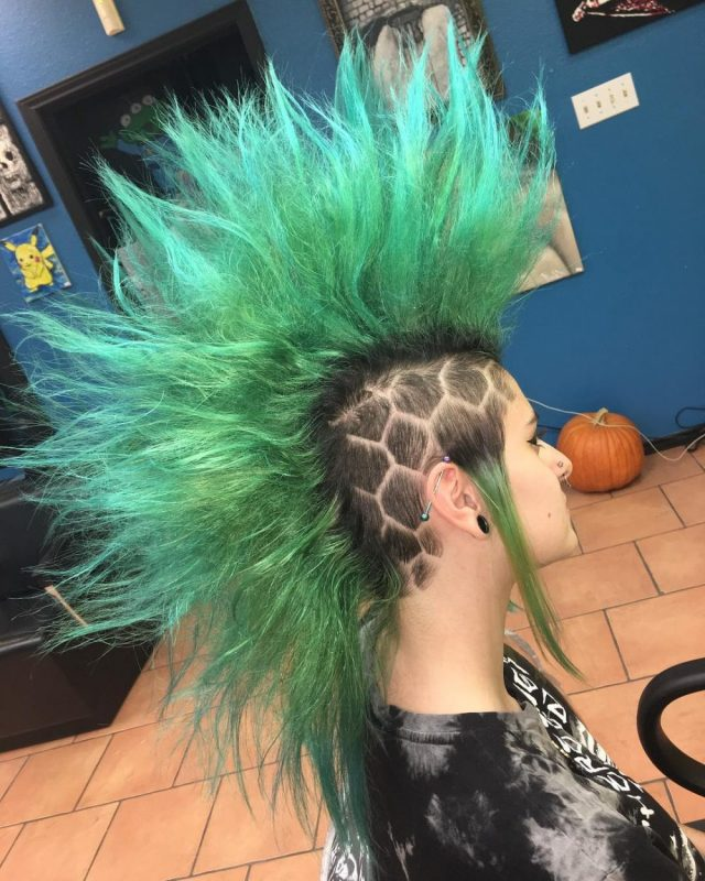 19 punk hairstyles for women (trending in 2019)