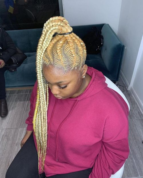 17 Hottest Braided Ponytail Hairstyles For Black Women