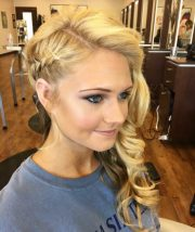 hottest side swept hairstyles