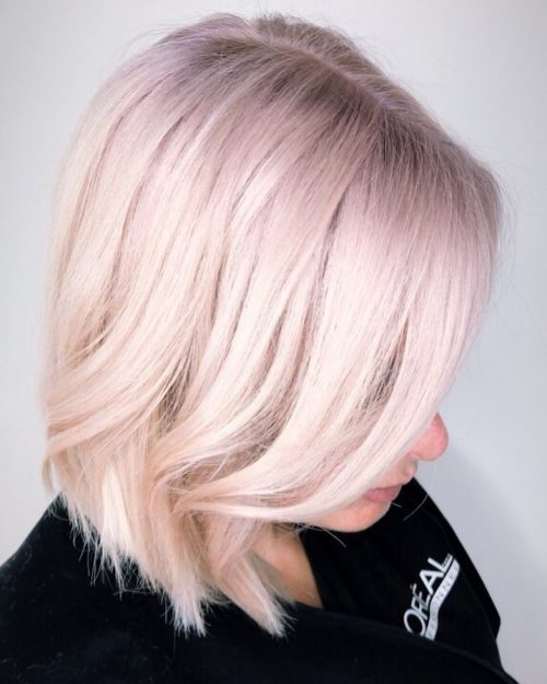 28 Best Platinum Blonde Hair Colors And Highlights For 2018