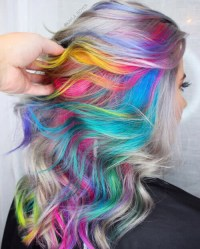 28 Colorful Rainbow Hair Ideas Trending in 2019!