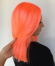 stunning orange hair color examples