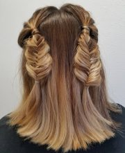 cute hairstyles medium length