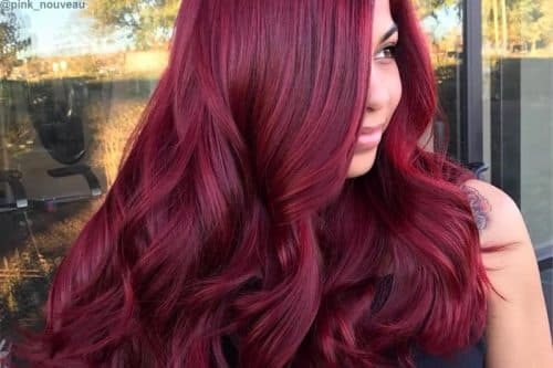 Hair Color Chart Shades Of Blonde Brunette Red Amp Black