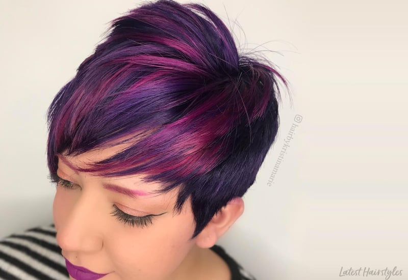 17 Greatest Red Violet Hair Color Ideas Trending in 2019