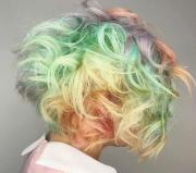 cool rainbow hair color ideas
