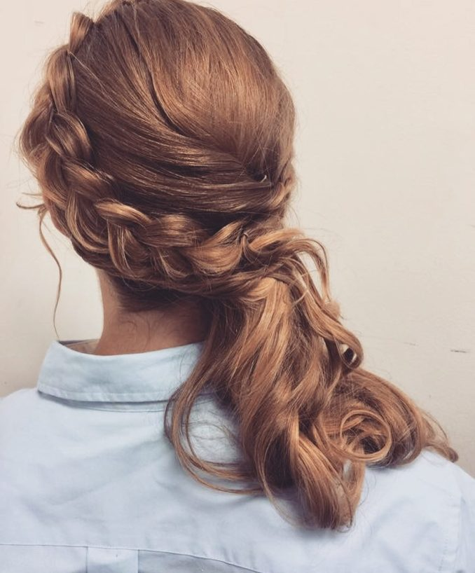 23 hottest side swept hairstyles to try in 2019