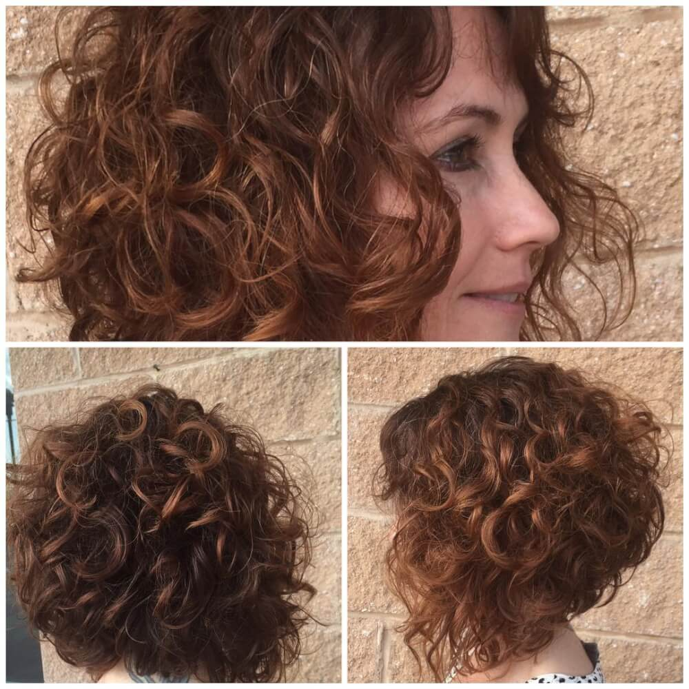 30 Cute Easy Hairstyles For Short Curly Hair