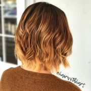 dazzling short ombre hair color
