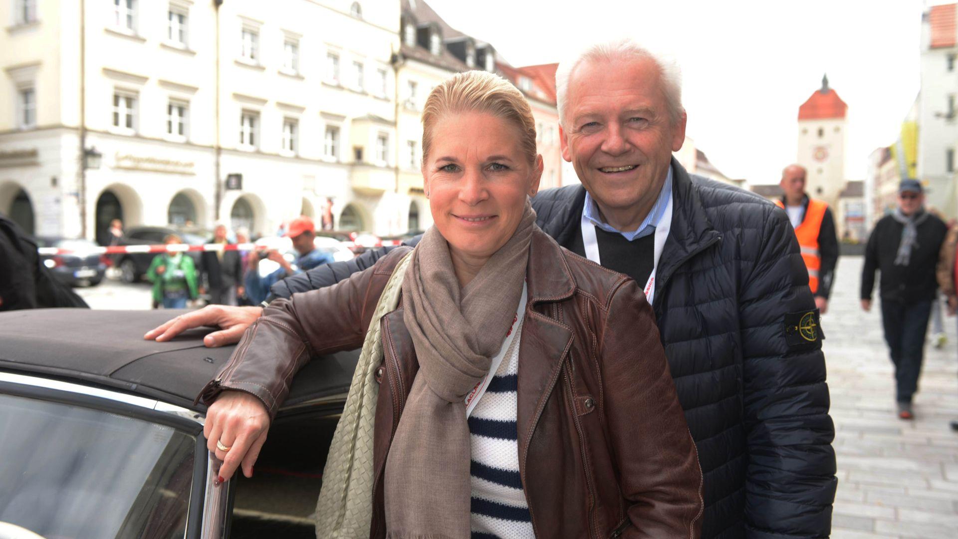 Hochzeit mit BahnBoss Cornelia Poletto ist unter der