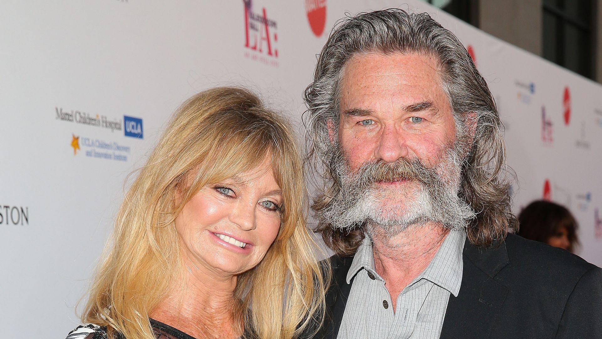 Nach 32 Jahren Goldie Hawn  Kurt Russell trauen sich