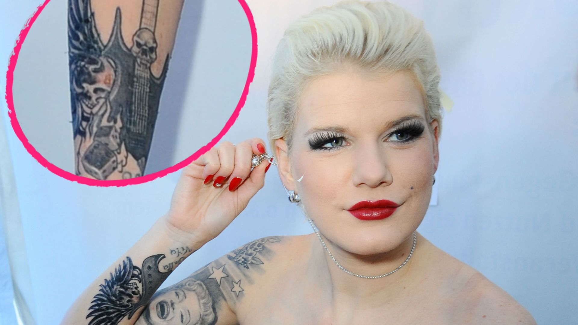 Nacktrodeln Melanie Mller enthllt neues Tattoo  Promiflashde