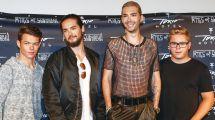 """""""schlag Den Star""""-berraschung Tokio Hotel Polarisieren"""