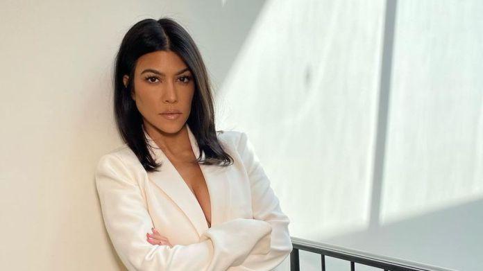 Kourtney Kardashian in October 2020