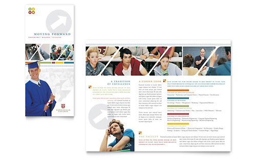Education & Training Brochures Templates & Designs