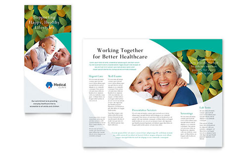 Free Tri Fold Brochure Templates Sample Tri Fold Brochures