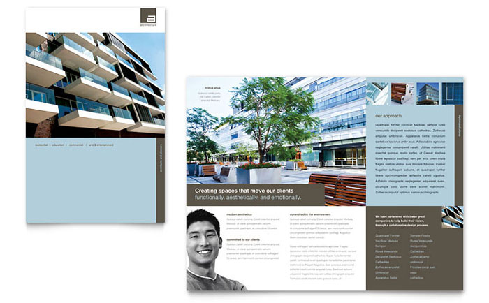 Architect Brochure Design