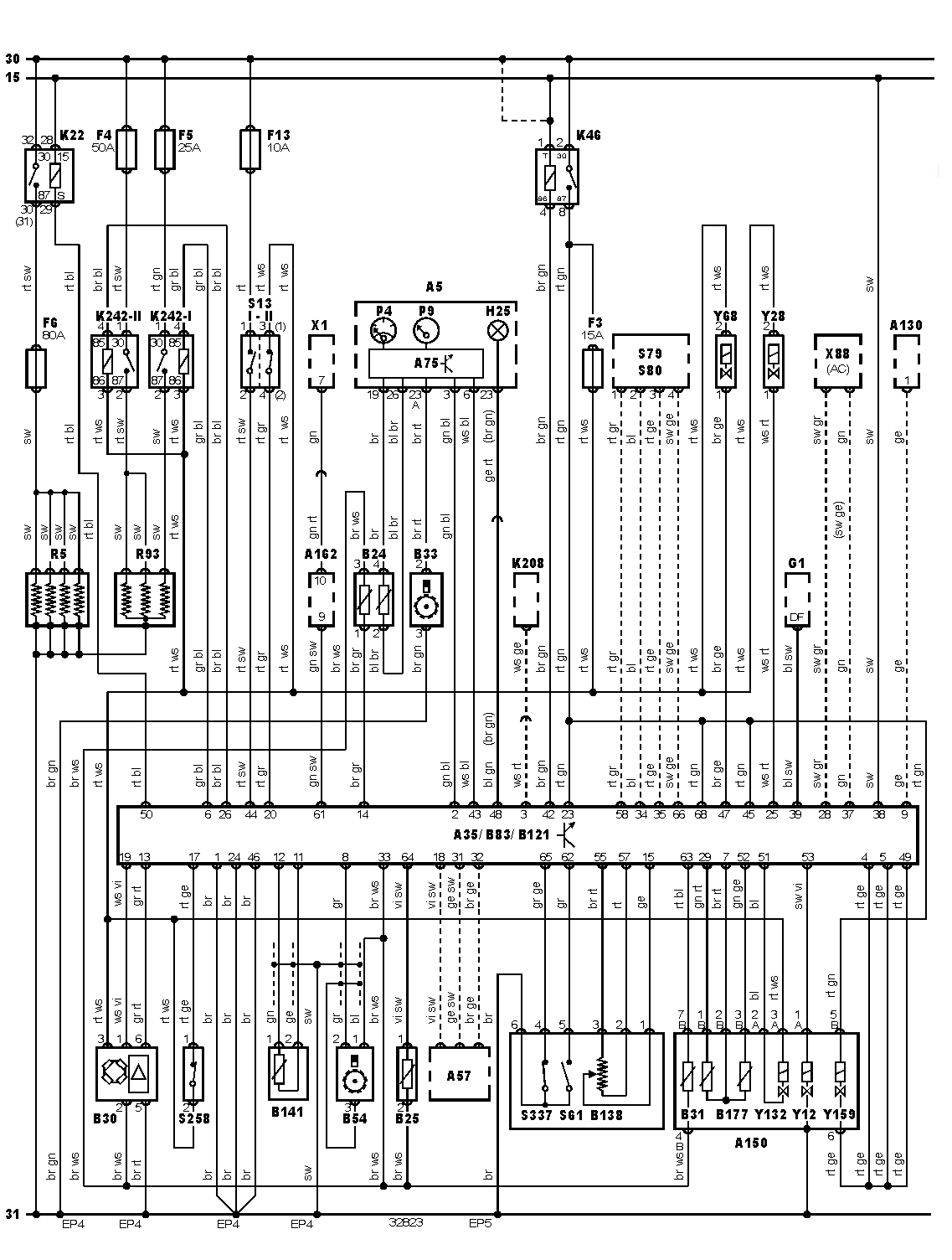 Bmw 323i Fuse Box Schematic Airbag