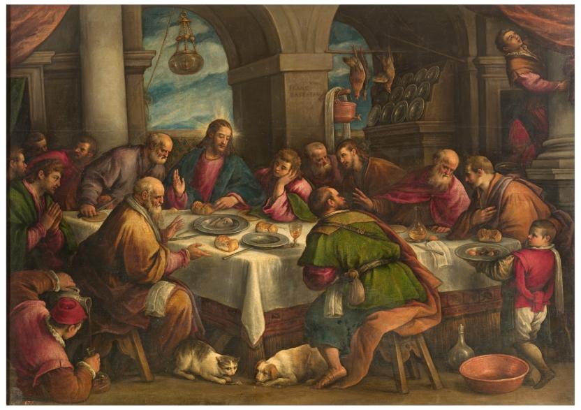 ltima Cena  Museo Nacional del Prado