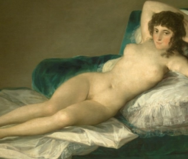The Naked Maja The Collection Museo Nacional Del Prado