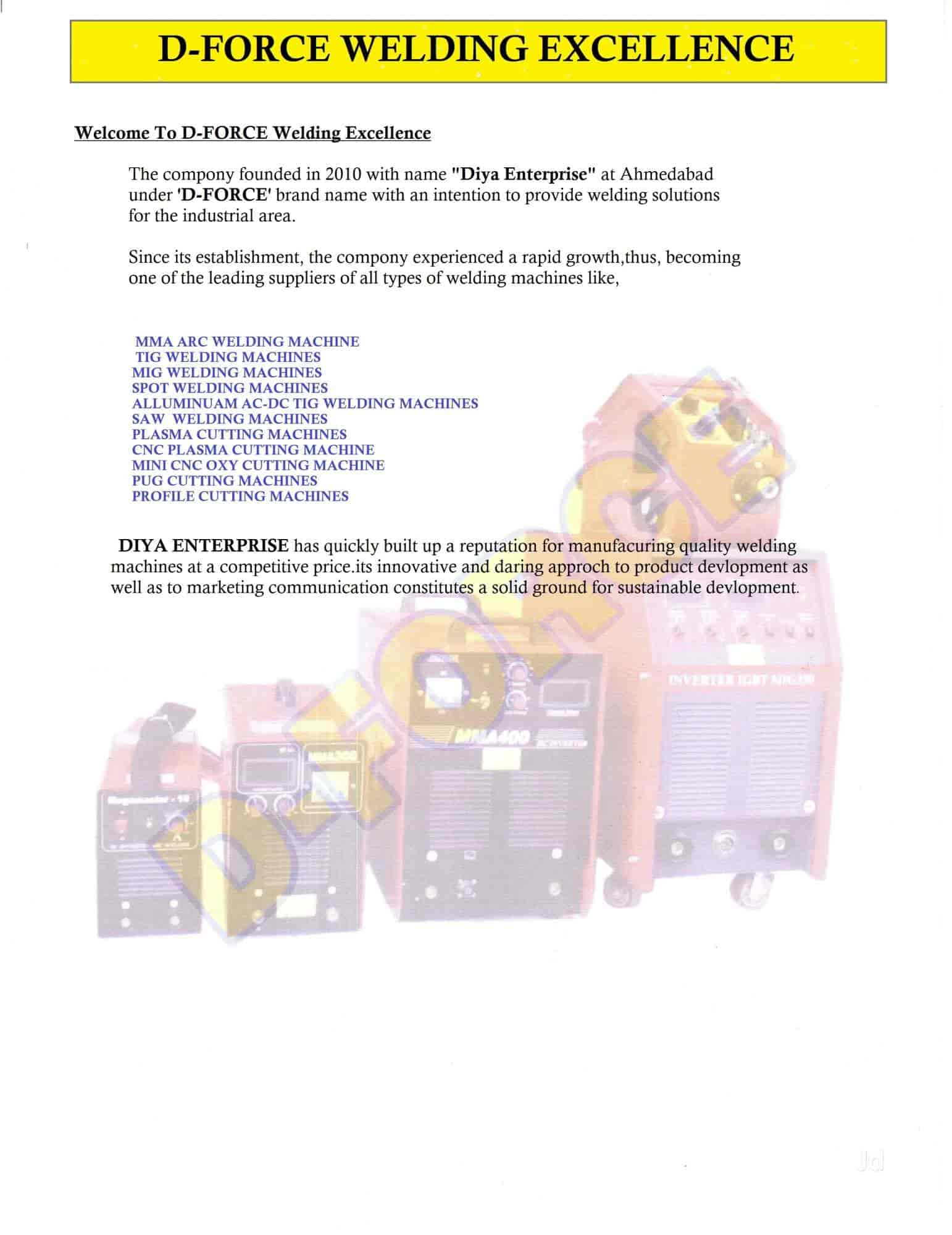 hight resolution of d force welding excellence vatva gidc welding machine manufacturers in ahmedabad justdial