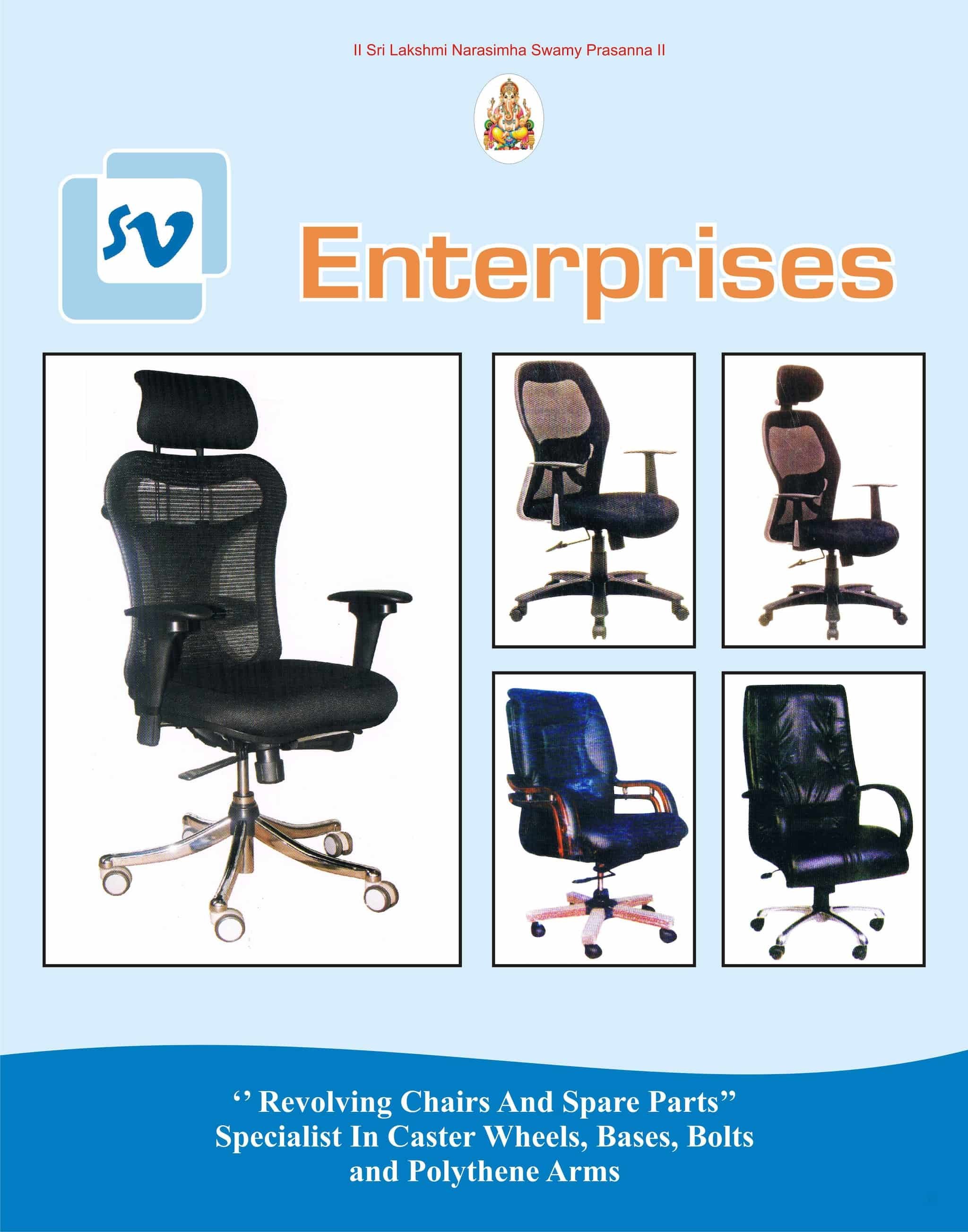 revolving chair spare parts bedroom gumtree s v enterprises yeshwanthpur sofa set repair services in bangalore justdial