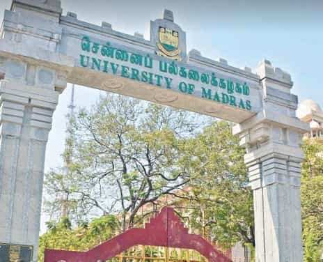 Madras University Exam Time Table