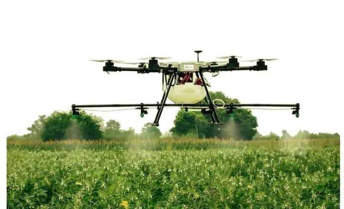 Agribot NPNT compliant drone by IoTechWorld Aviation Pvt. Ltd.