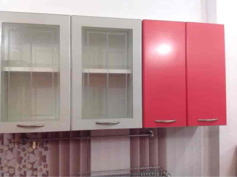 kitchen showroom island with dishwasher point godrej interio an exclusive modular view photos