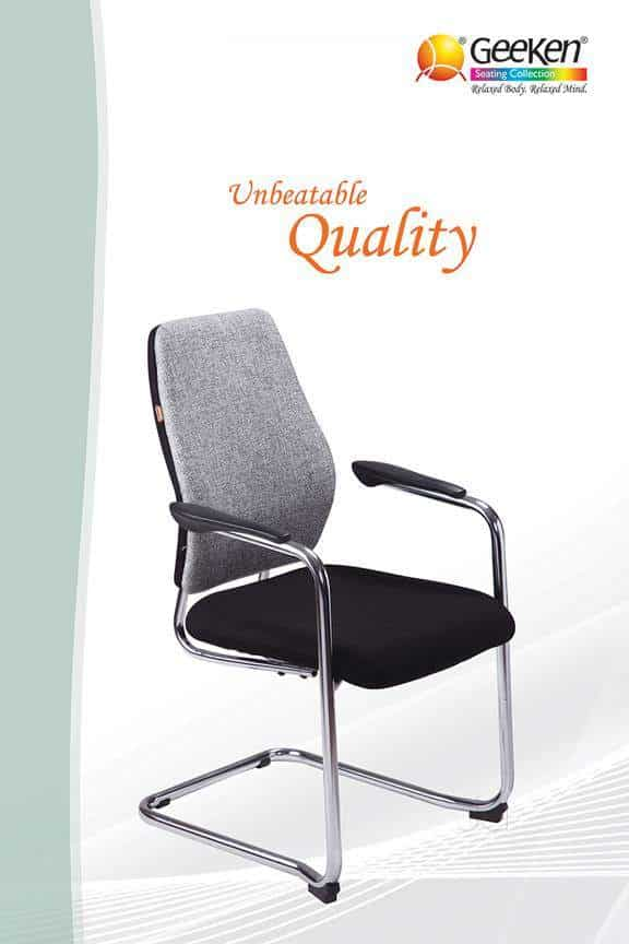 geeken revolving chair white chairs for bedroom office furniture ludhiana bus stand dealers in justdial