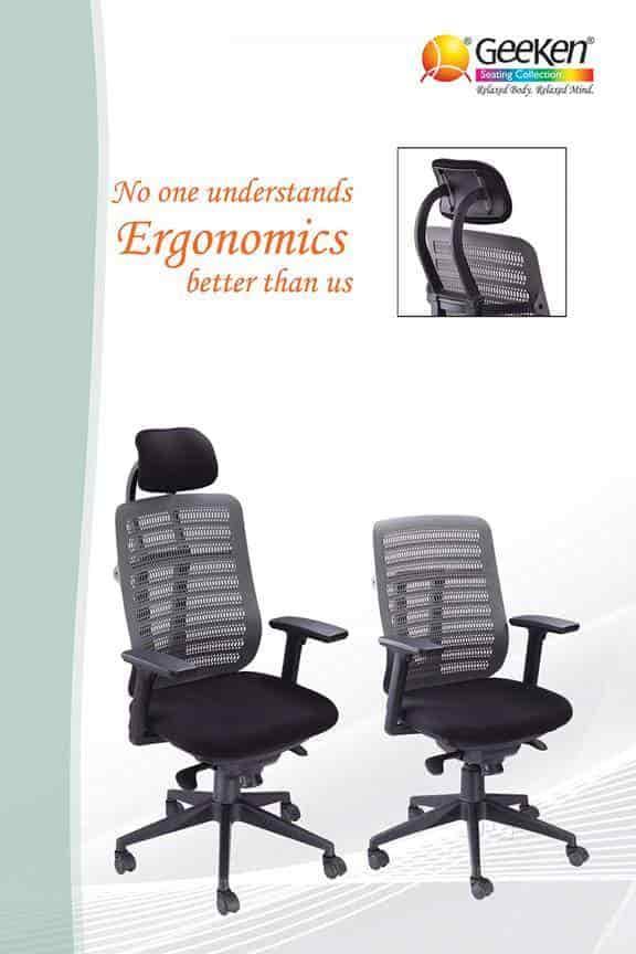 geeken revolving chair weird arm chairs office furniture ludhiana bus stand dealers in justdial