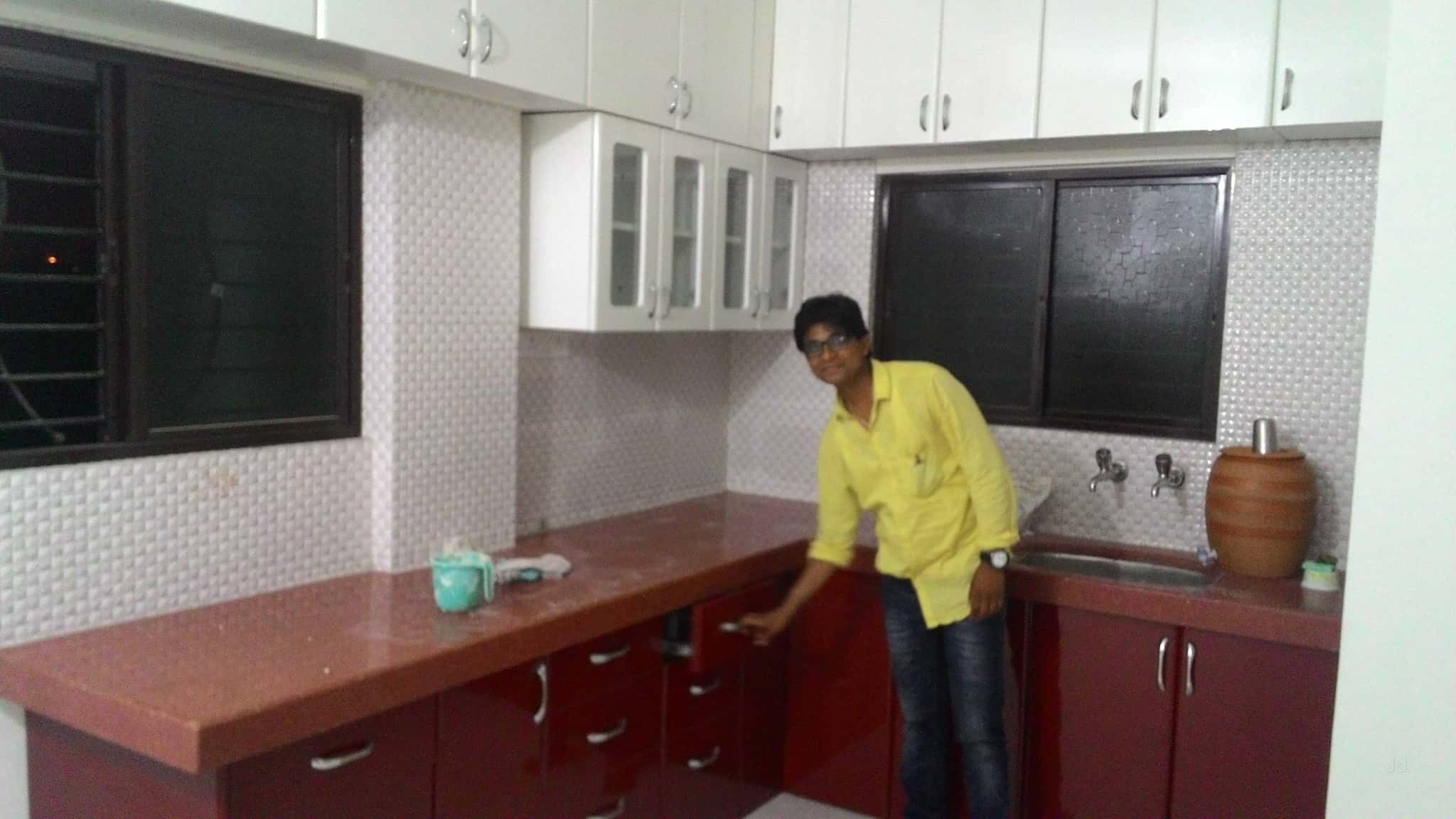 modular kitchens kitchen table stools rachana lashkaribag rachna dealers in nagpur justdial