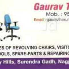 Revolving Chair Spare Parts Cover Hire Carlisle G T Services Photos Seminary Hills Nagpur Pictures Images Repair