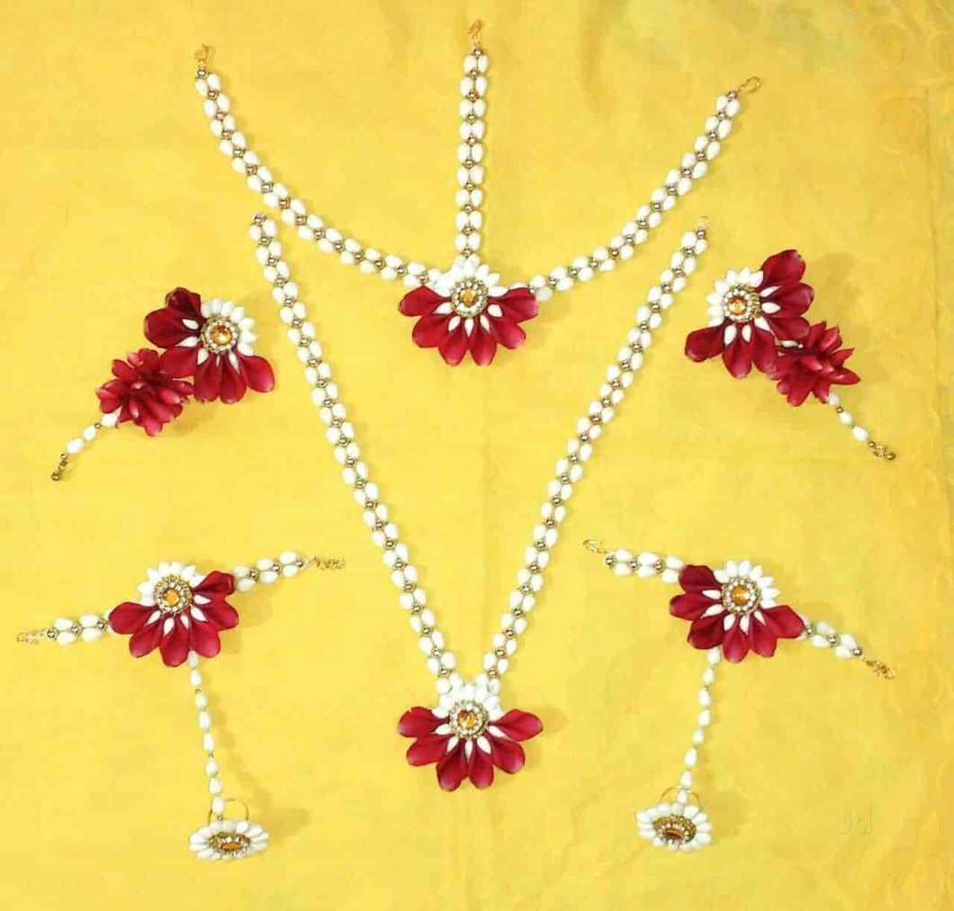 Artificial Flower Jewellery For Baby Shower In Pune Kayaflower Co