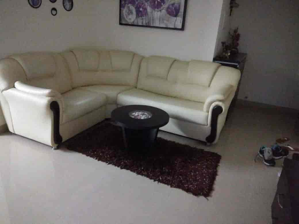 old sofa set in pune dfs wrap fabric corner second hand chair baci living room