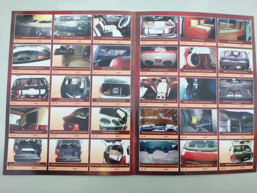 medium resolution of  car accessory shree tej car interior photos majura gate surat carpenters