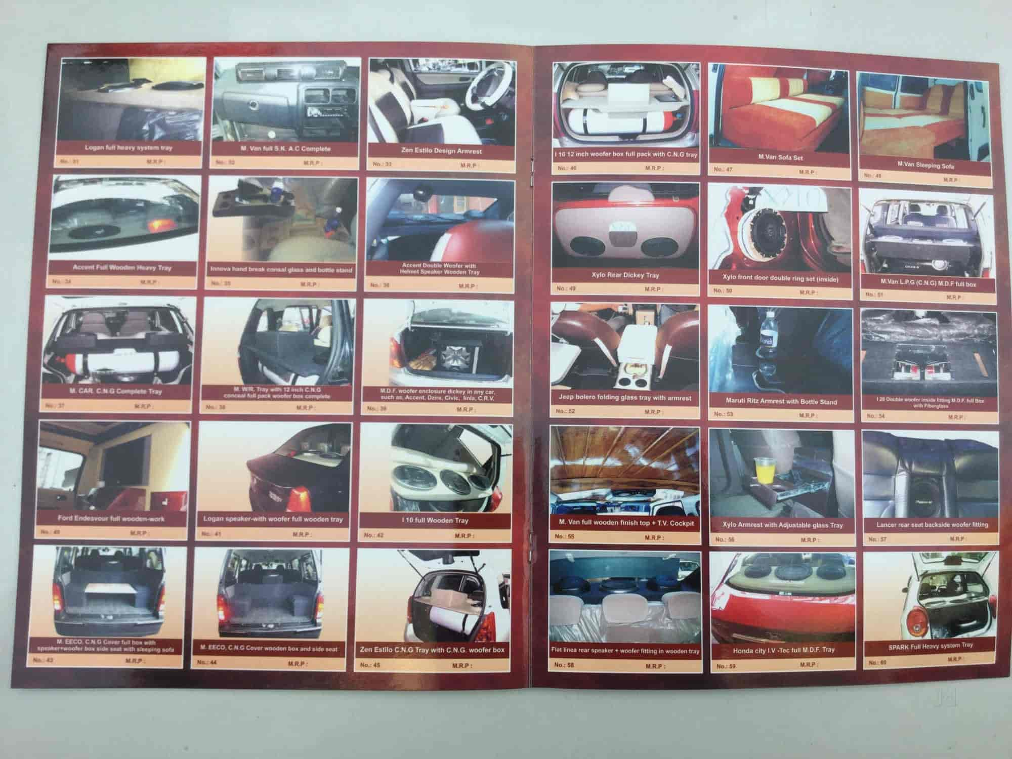 hight resolution of  car accessory shree tej car interior photos majura gate surat carpenters