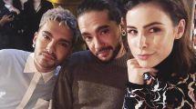 Cooles Trio Lena Meyer-landrut & Die Tokio-hotel-twins