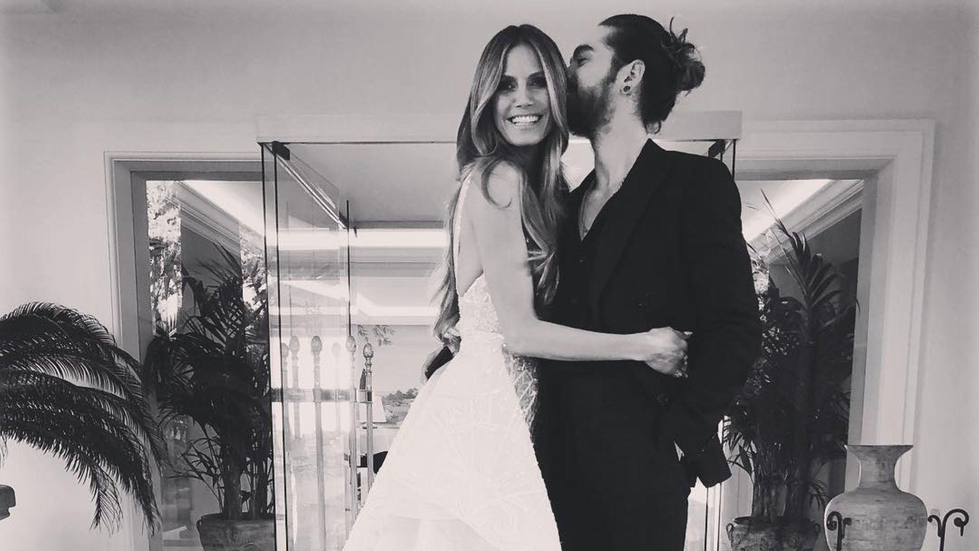 Hochzeitsbild Sind Heidi Klum und ihr Tom etwa