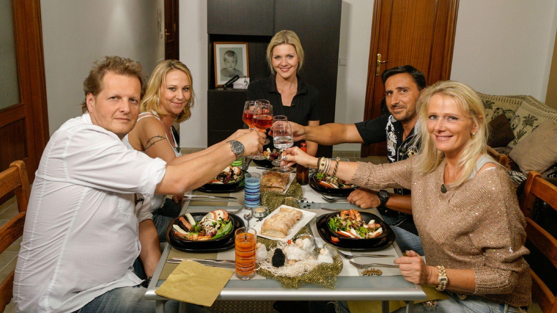 Drama inklusive Jens  Jenny beim perfekten Promi Dinner