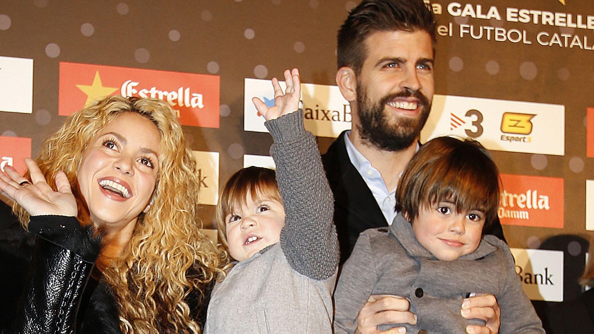 Megas Hier cruist Shakira mit ihren Boys durch