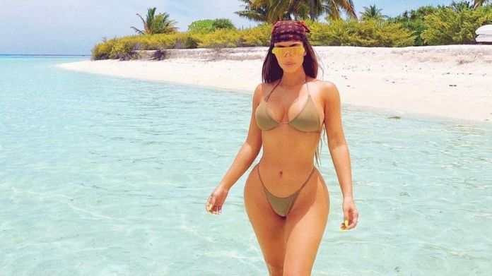 Kim Kardashian in October 2020