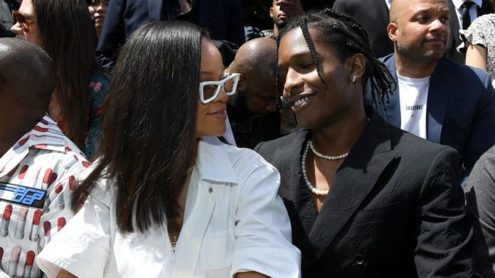 Rihanna and A$AP Rocky in June 2018