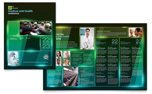 Medical & Health Care Brochures Templates & Designs