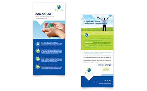 Non Profit Rack Cards Templates & Designs