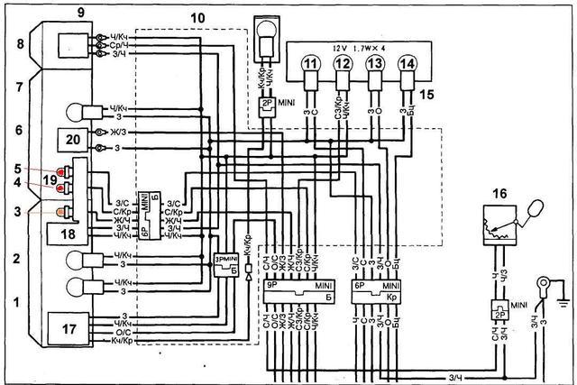 96 Kawasaki Bayou 220 Wiring Diagram Kawasaki 250 Wiring