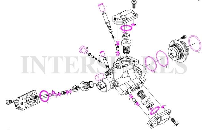 fuel pump repair kit CDI CDTI DTI DCI JTD F 01M 101 456