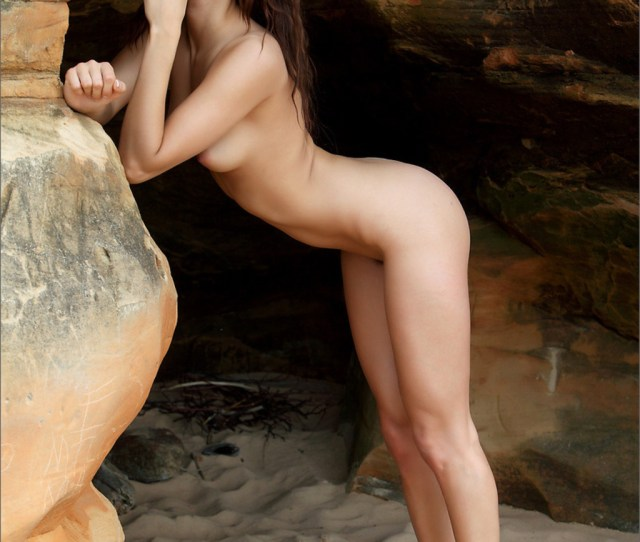 Mira Gets Nude Outdoors 07