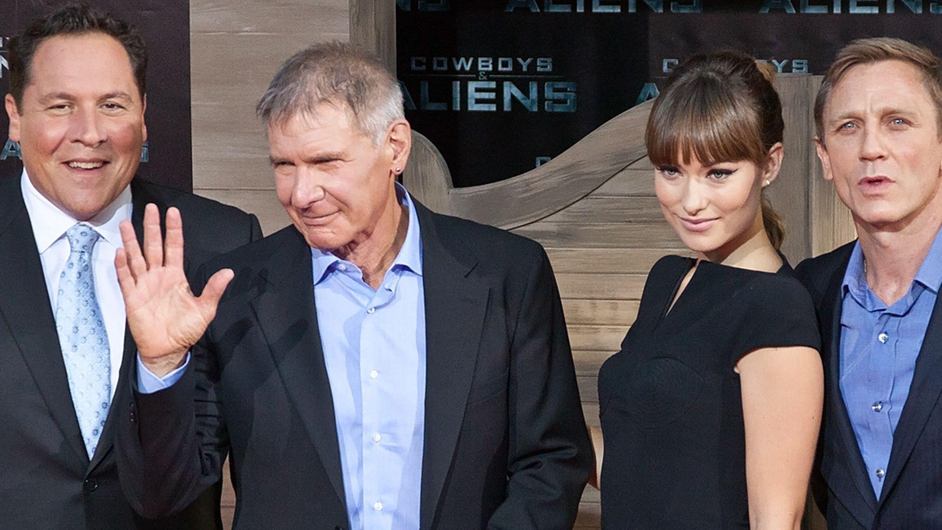 Harrison Ford und Co Wilder Westen am Red Carpet  Promiflashde