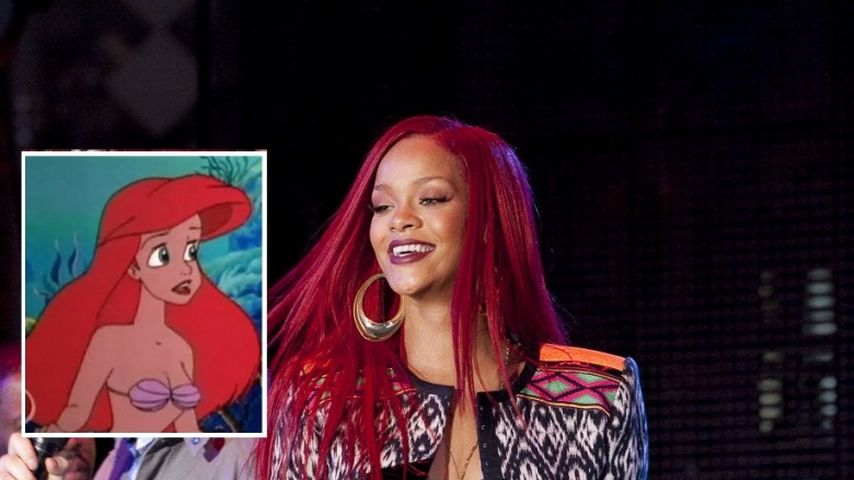 Neue Frisur Rihanna Jetzt Im Arielle Look Promiflash De